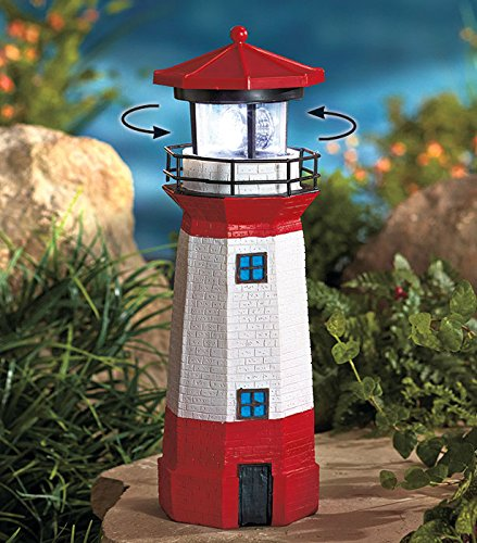 Lighthouse Solar Lamp