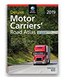 Rand McNally 2019 Deluxe Motor Carriers Truckers Road Atlas Spiral/Laminated