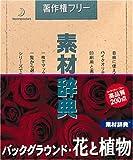 素材辞典 Vol.91 バックグラウンド・花と植物編