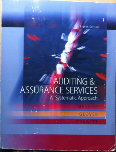 Auditing & Assurance Services: A Systematic Approach 8th Edition with ACL Cd