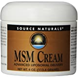 Source Naturals MSM Cream, 4 Ounce