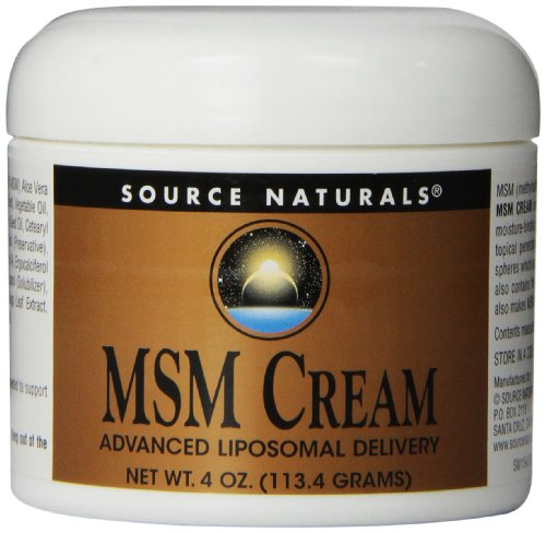 Source naturals msm cream