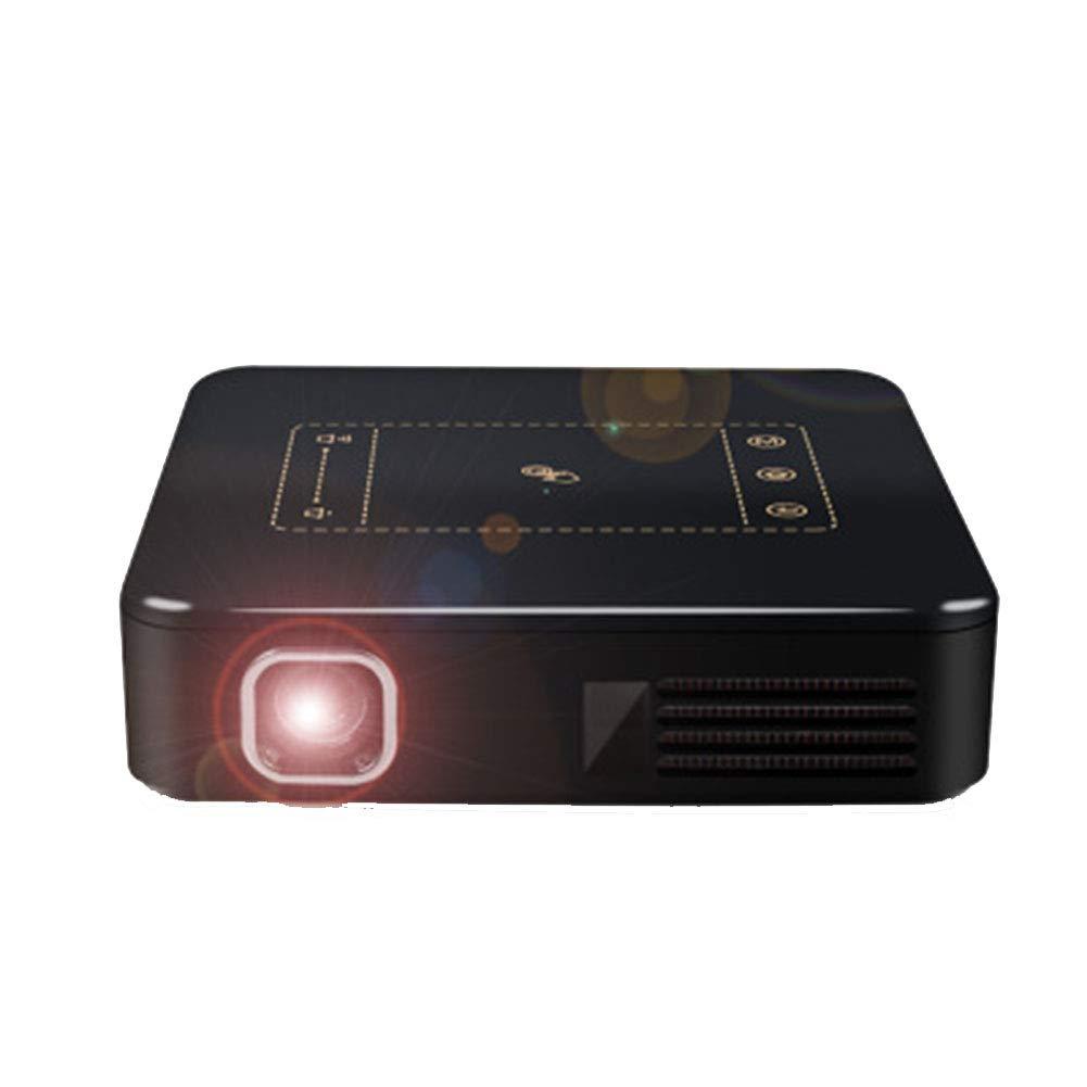 プロジェクター ポータブルミニプロジェクター、 LED 1080P HD投影、 に適して ファミリー/劇場/パーティー B07QXN61JB