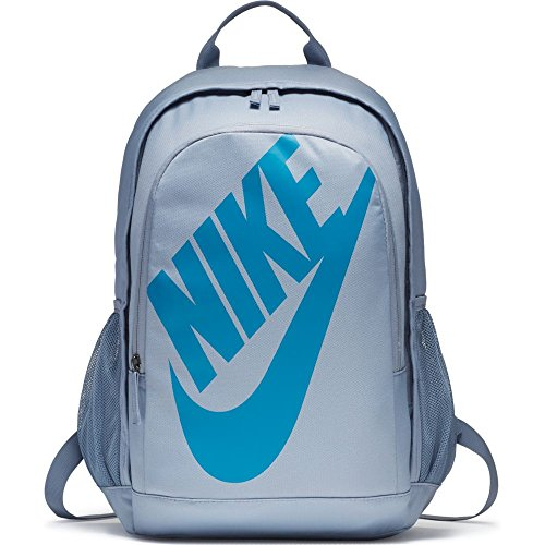 Men's Nike Sportswear Hayward Futura 2.0 Backpack Glacier Grey/Black/Lt Blue Lacquer Size One Size