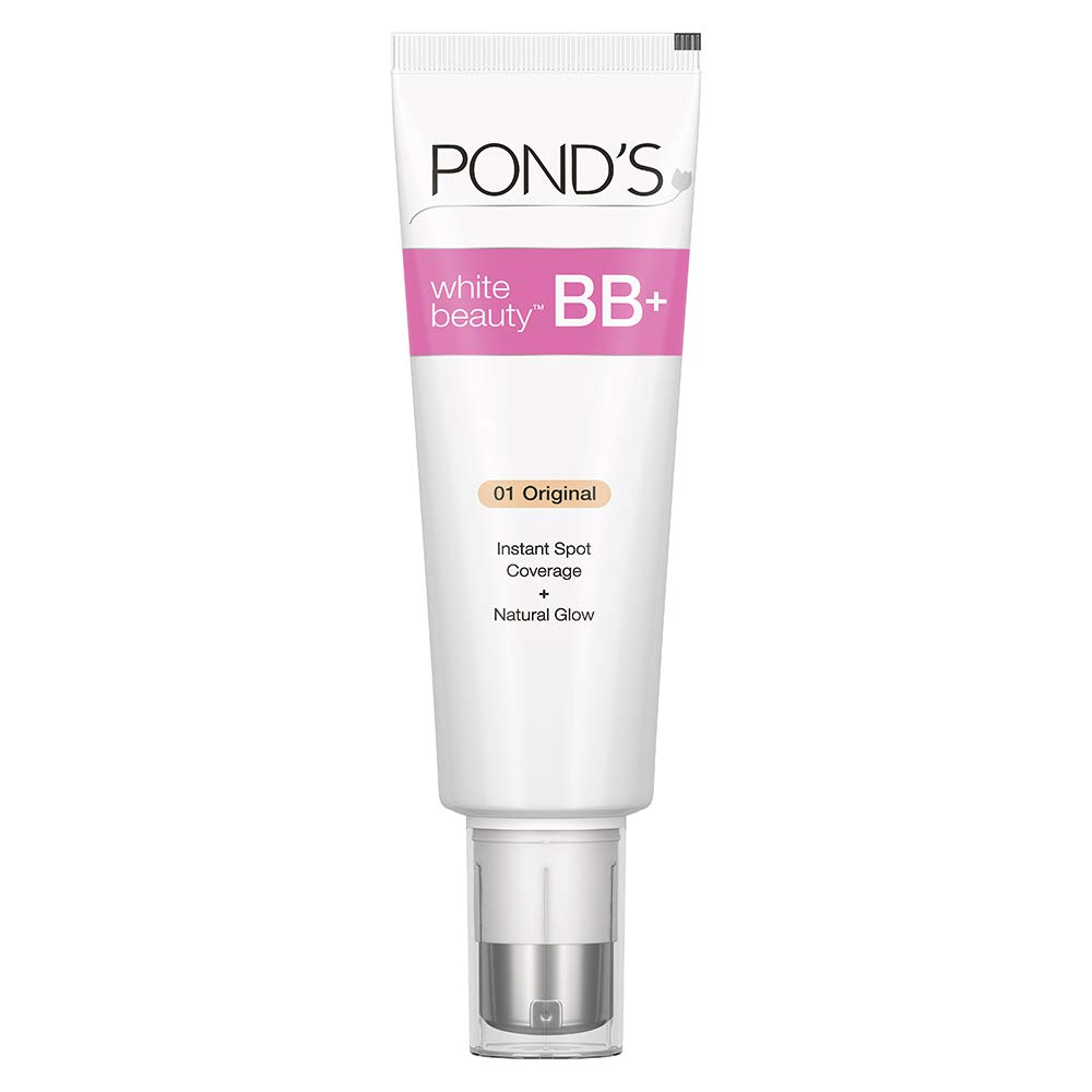 POND'S BB+ Cream, Instant Spot Coverage + Natural Glow, 01 Original, 50 g:  Amazon.in: Beauty