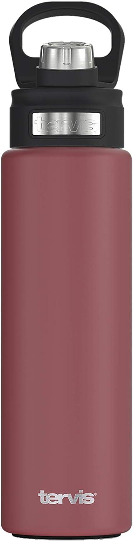 Tervis Trinkbecher mit Wickel und t/ürkisem Deckel 24oz Water Bottle farblos