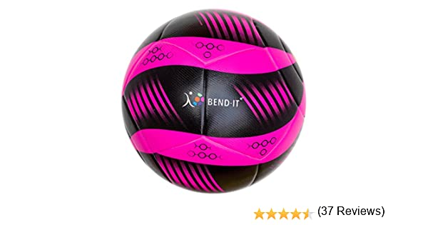 Bend-It Curl-It Pro Amber, Size 5 Football, Official Match Ball ...