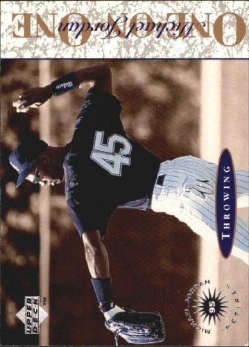 - 1995 Upper Deck Minors Michael Jordan One On One #1 Michael Jordan Throwing