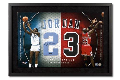 41c3bf937a9fdc Michael Jordan Autographed UNC Bulls