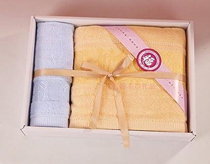 ZHFC Toallas toallas regalo tres traje empleado premios cumpleaños regalo business reunión regalo el matrimonio de