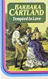 Front cover for the book Tempted to Love by Barbara Cartland