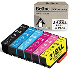 Package Include: 1x Remanufactured ink cartridge for Epson 312XL (Black) WITH UPGRADED CHIP.1x Remanufactured ink cartridge for Epson 312XL (Cyan) WITH UPGRADED CHIP.1x Remanufactured ink cartridge for Epson 312XL (Magenta) WITH UPGRAD...