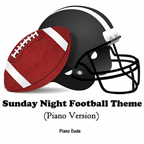 Sunday Night Football Theme (Piano Version)