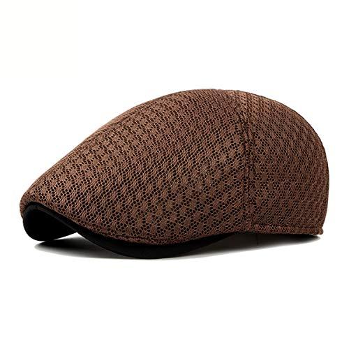 Transpirable de E B Hombre de Sombrero Boina de hat GLLH Gorro cómodo qin Sombreros Malla Moda qB4H88