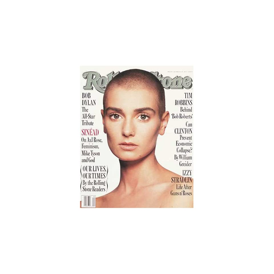 Rolling Stone Magazine, Issue 642, October 1992 , Sinead OConnor Cover