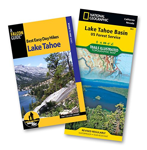 Best Easy Day Hiking Guide and Trail Map Bundle: Lake Tahoe (Best Easy Day Hikes Series) (Lake Tahoe Best Hiking Trails)