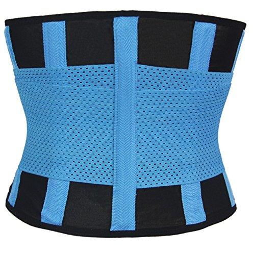 Power Sport abbigliamento Cintura Cintura di pezzi Fitness Shapers stampa dieta Schwitz Belt Sport Hot Nero vgF7Zqvwr