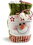 DII Snowman Gift Bag with Towels Set