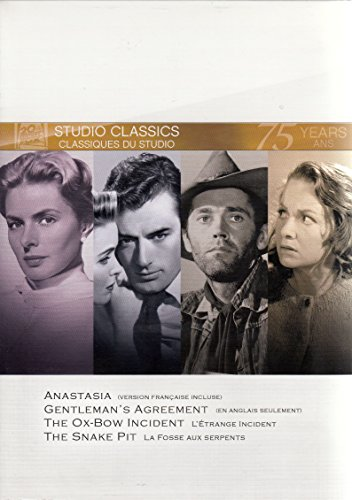 Anastasia / Gentleman's Agreement / The Ox-Bow Incident / The Snake Pit (Fox Studio Classics)