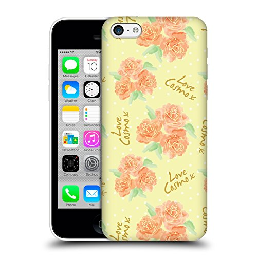 Official Cosmopolitan Roses 2 Love Cosmo Hard Back Case for Apple iPhone 5c
