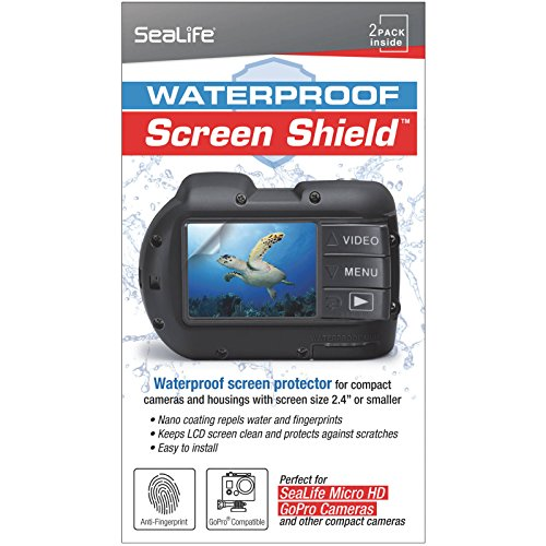 SeaLife SL5012 Screen Shield for Micro HD/GoPro/Compact Cameras (Clear)