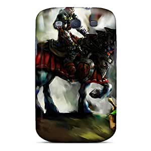 Shockproof Hard Phone Cases For Samsung Galaxy S3 (hyB14037QGGS) Allow Personal Design Realistic The Legend Of Zelda Ocarina Of Time Pictures