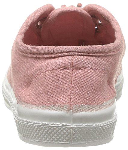 Bensimon Tennis - Primeros Pasos de canvas Bebé - unisex Rosa - Rose (Rose Ballerine 442)