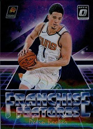 140590b7 2018-19 Donruss Optic Franchise Features Purple Basketball #24 Devin Booker  Phoenix Suns Official