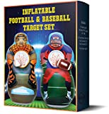 Inflatable Two Sided Football & Baseball Target Set