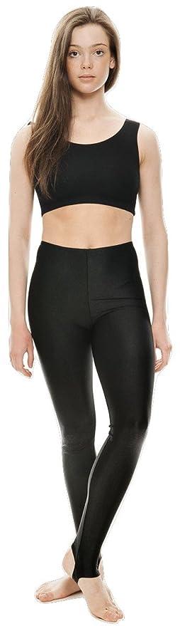 Shiny Lycra Stirrup leggingsDance /& Gymnastics