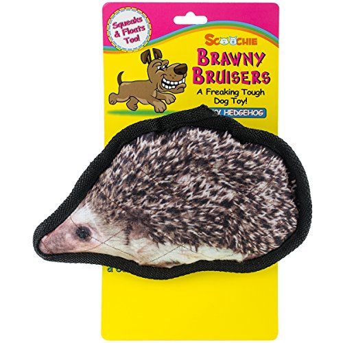 Brawny Bruisers Rocky Hedgehog Dog Toy 8-