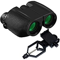Binoculars Compact Size Motic53 High Powered 10x25,...