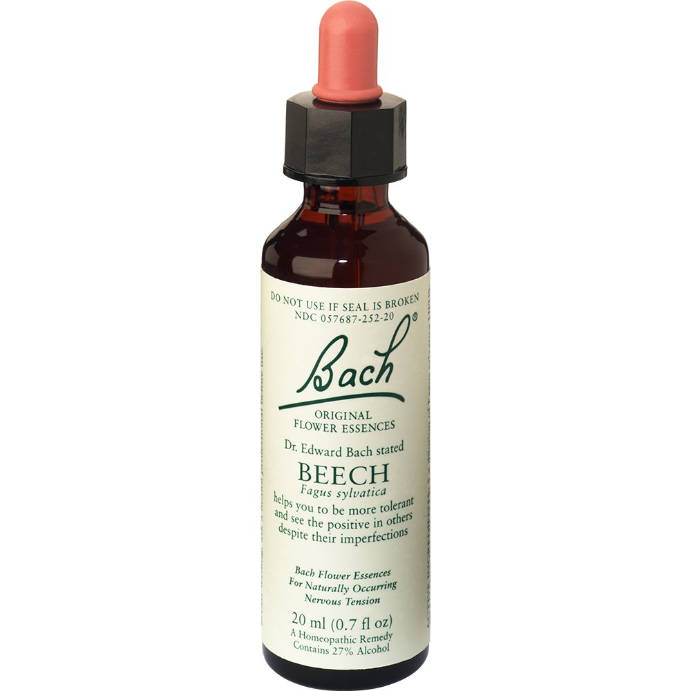 Bach Original Flower Remedies Supplement, Beech, 20 ml, 0.7 Fluid Ounce