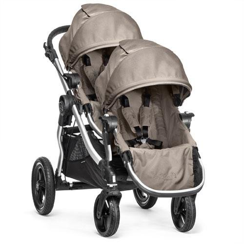 Baby Jogger City Select Stroller with Second Seat - Quartz (Double Triple Strollers)