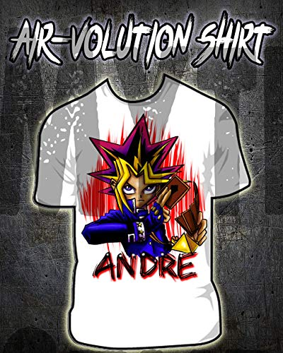 Personalized Airbrush Yugioh Shirt