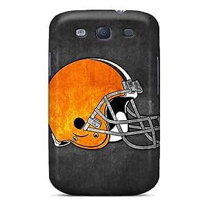 Hot Design Premium HgI1291vWsq Tpu Case Cover Galaxy S3 Protection Case(cleveland Browns 12)