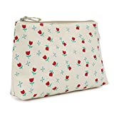 Pink Lining Wash Bag Tulips and Forget Me Nots Changing Bags by Pink Lining
