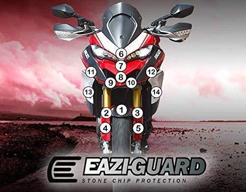 Eazi-Guard/™ Gravilla Protecci/ón para un Ducati 1260 Pikes Altavoces Multistrada 2018