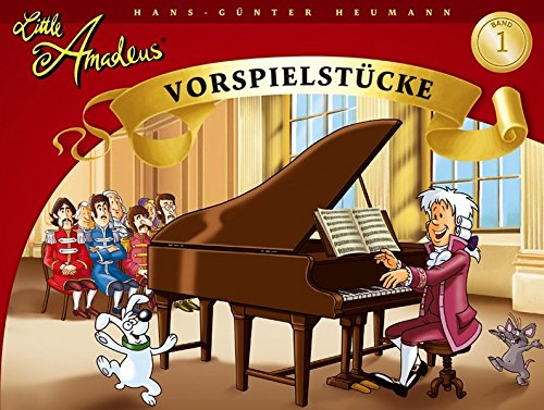 Little Amadeus - Vorspielstücke (Band 1): Lehrmaterial für Klavier