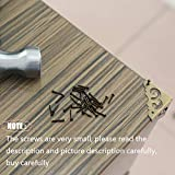 newlng Small Tiny Nails Wooden Screws Compact