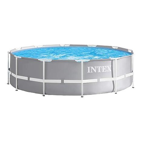 Intex 26716NP - Piscina redonda desmontable Prisma Frame 366 x 99 cm con depuradora