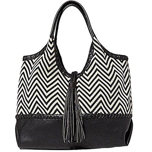 Big Buddha Portofino Handbag (zig Zag) Jportfin_zzg