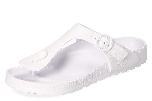 663efe12c Rieker Womens Comfort Sandals White 4 UK 6 US  Amazon.co.uk  Shoes ...