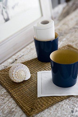 Cotton Cocktail Napkin - 4.5 x 4.5 in - 50 units per roll - Ecru by MYdrap (Image #2)