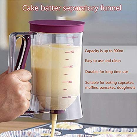Fantasyworld 900 ml Cupcake Pancake Cake Cream Cake Mix Dispenser ...