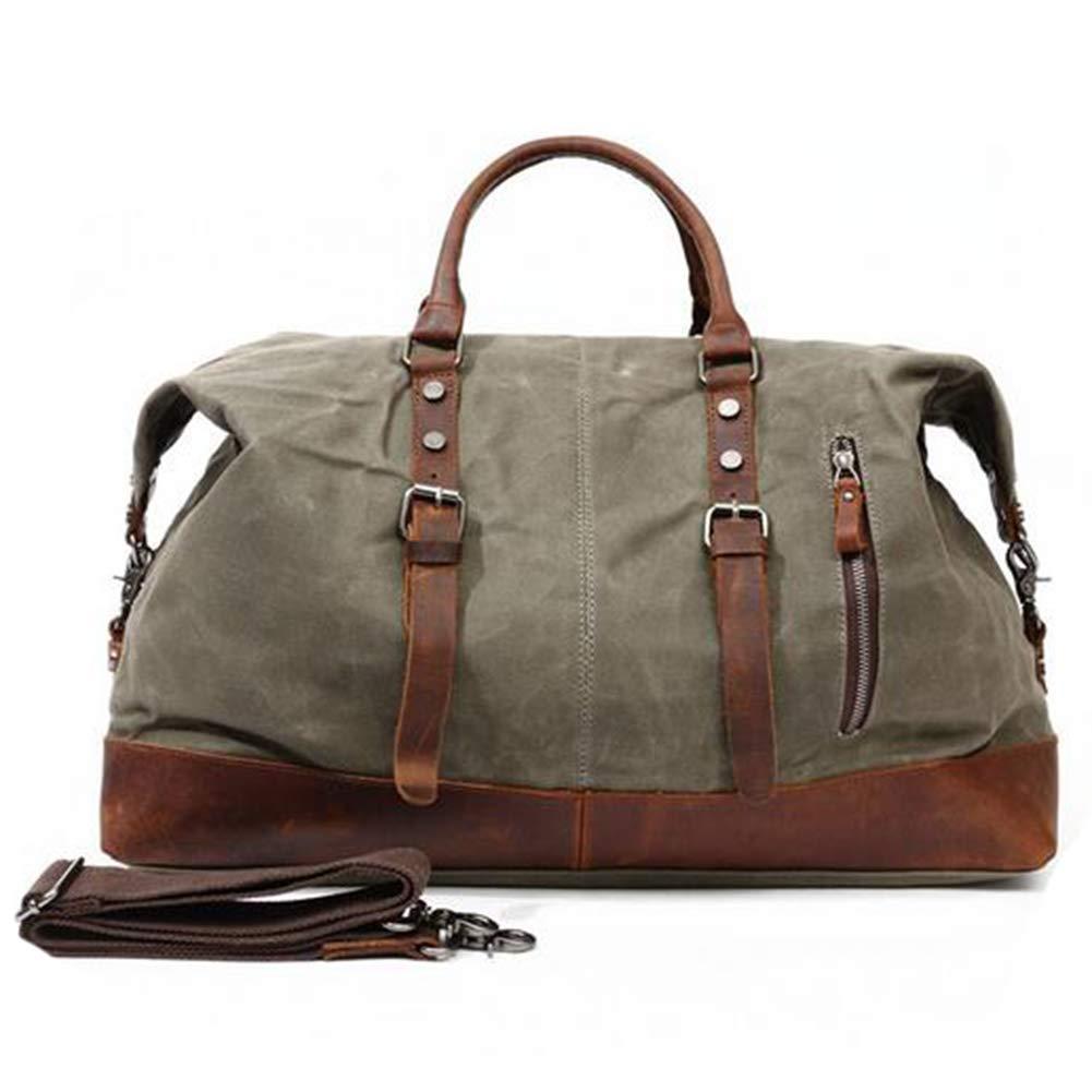 HXZB Männer Handtasche Travel Einzelner Schulterbeutel Öl Wachs Canvas Messenger Gepäcktasche B07JH4JJLL   Outlet    Erste Gruppe von Kunden    Die erste Reihe von umfassenden Spezifikationen für Kunden