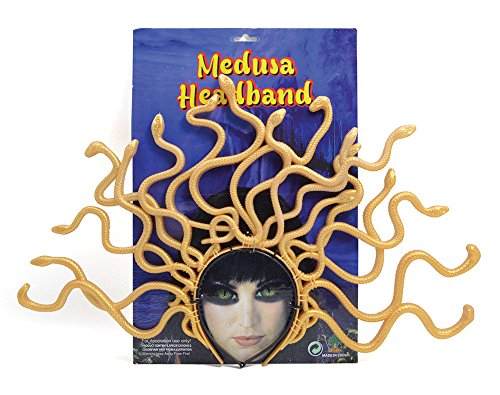 Medusa Costume Uk (Lady Medusa Fancy Dress Headband)