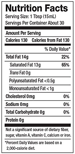 Nutiva Organic, Cold-Pressed, Unrefined, Virgin Coconut Oil from Fresh, non-GMO, Sustainably Farmed Coconuts, 15-ounce (Pack of 2) by Nutiva (Image #3)