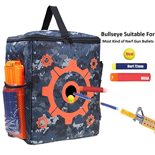 Parateck Target Pouch Storage Carry Equipment Bag For Nerf Guns Bullets Balls - Darts N-strike Elite Rival Mega Series