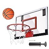 CHIMAERA Mini Indoor Sport Basketball Hoop Set (Black)